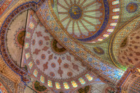 Dome detail, Sultan Ahmed Mosque (Blue Mosque)